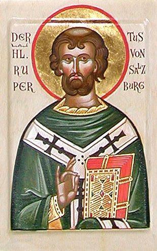 Святитель Руперт Зальцбургский, епископ Вормсский 1
