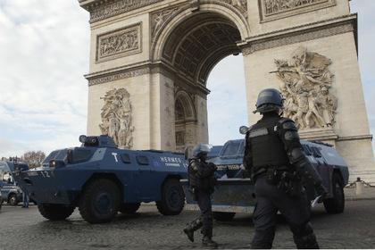 беспорядки во франции 2
