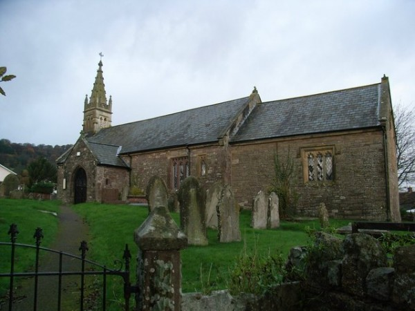 church, Llanellen, Monmouthshire, Wales
