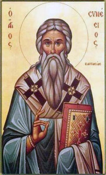 Святитель Синесий, епископ Карпасийский