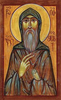 Преподобный Георгий Затворник, Отшельник, Молчальник, Богоносец