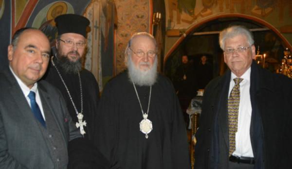 делегация церкви Греции в Москве
