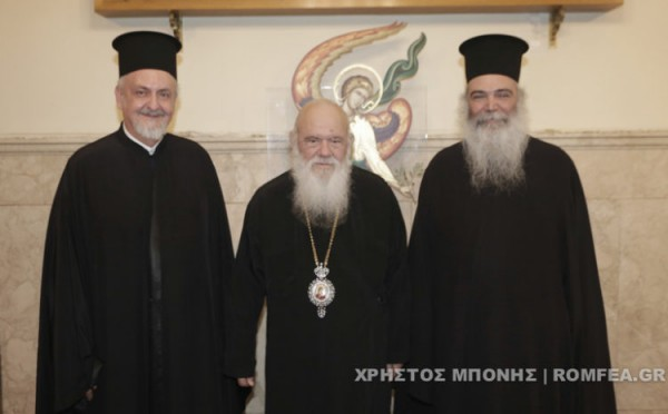 фанариоты у патриарха Иеронима