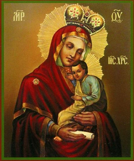 Икона Божией Матери Воргольская 1