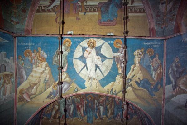 Преображение Господне, XIV в., Сербия, Косово, Монастырь Высокие Дечаны