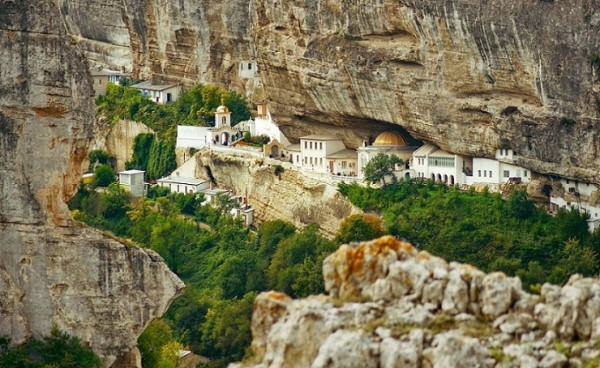 Свято-Успенский монастырь, Бахчисарай, Крым, Россия