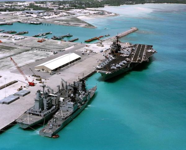 острова чагос военная база
