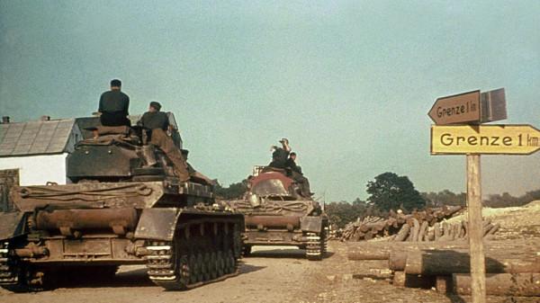 _Немецки танки у советской границы утром 22 июня 1941 года