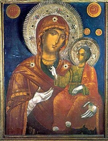 Григориатская икона Божией Матери
