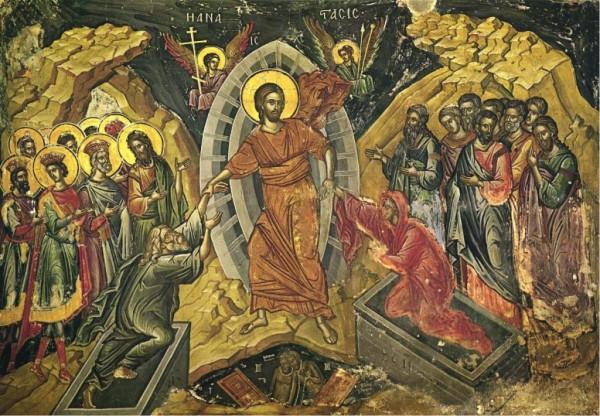 Воскресение Господне. Феофан Грек, Афон