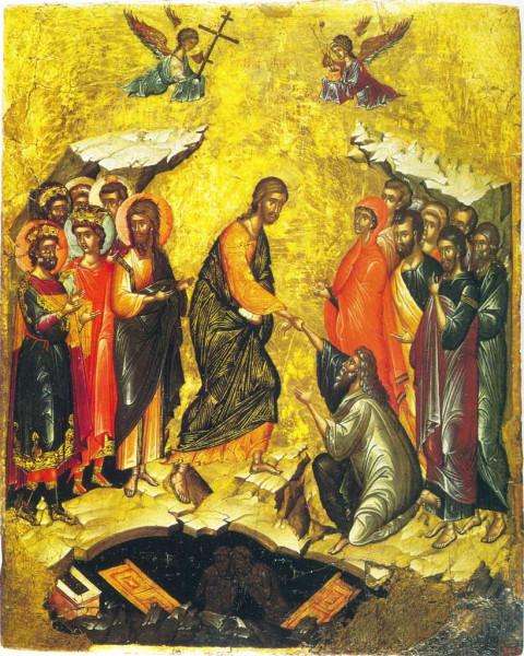 Воскресение Господне. Византия. Начало XV века.