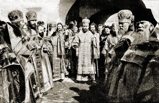 сщмч_Владимир_Богоявленский_в_Лужецком_монастыре_1908