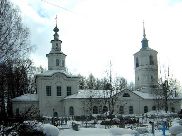 Церковь Введения во храм Пресвятой Богородицы Устьнедумская