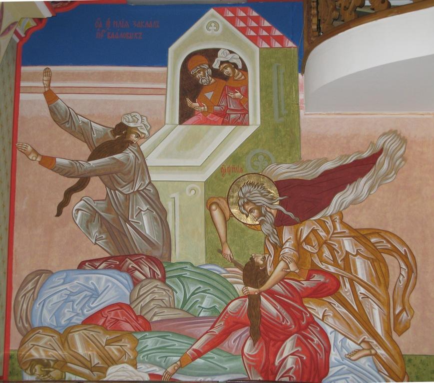 пророк_Илия_заклание_жрецов_Вааловых