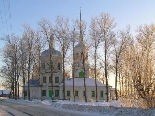 храм апостолов Петра и Павла в Кашине)