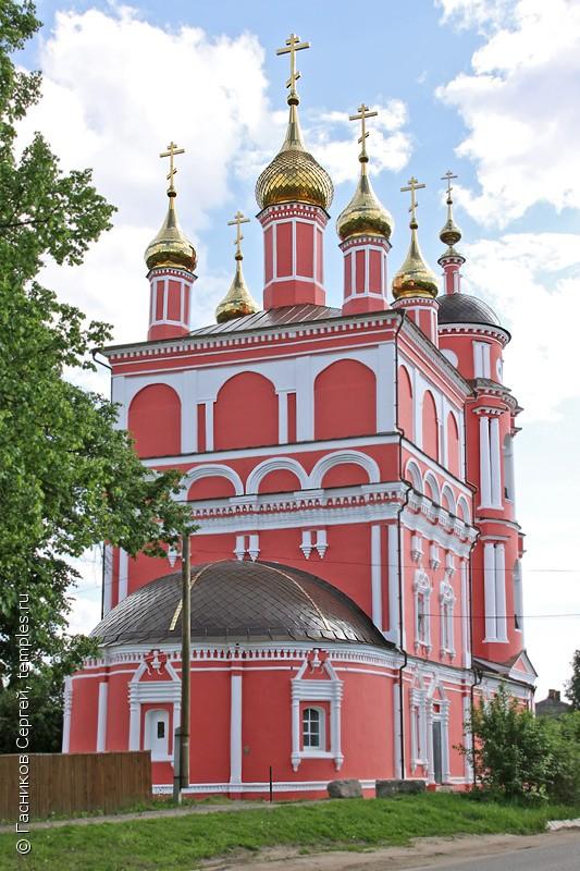 храм_Бориса_и_Глеба_Боровск