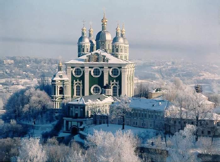 Кафедральный Успенский собор Смоленск