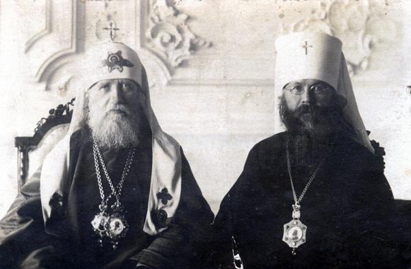 Патриарх_Тихон_митрополит_Вениамин