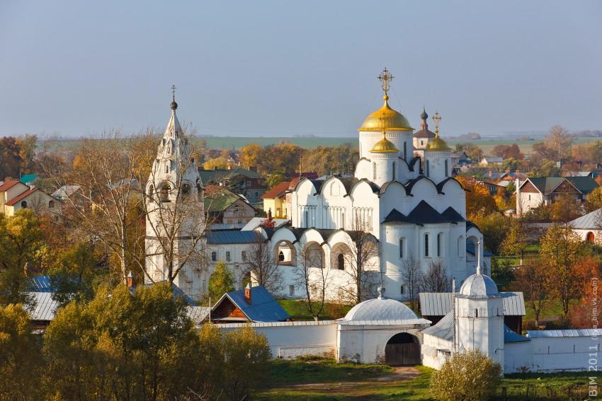 Покровский женский монастырь. Собор Покрова Пресвятой Богородицы - Суздаль