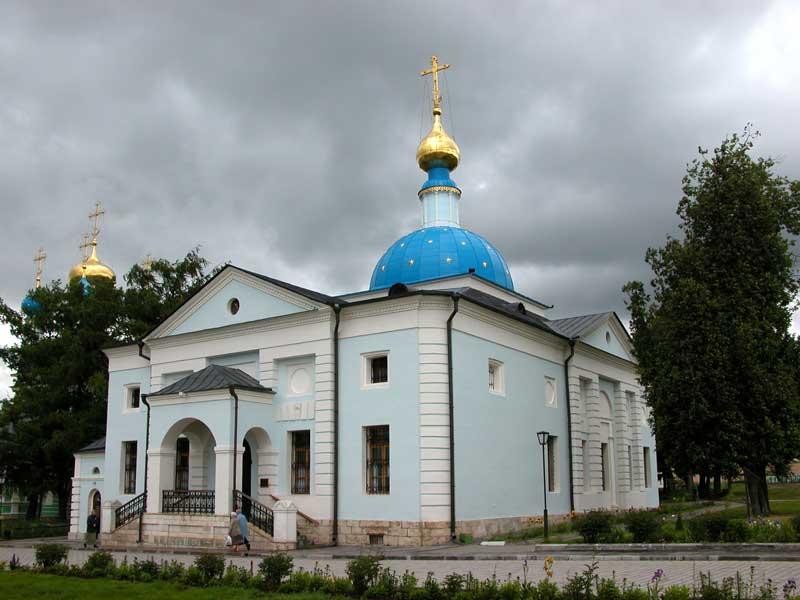 Оптина_Пустынь_Казанский_храм