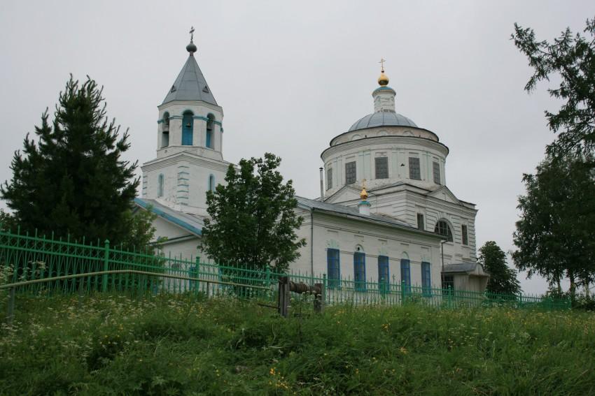 храм Вознесения Господня села Ыб_Республика Коми