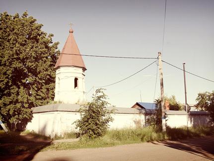 Манзелинский_Пророко-Ильинский_женский_монастырь_сохранилась_ограда_башня