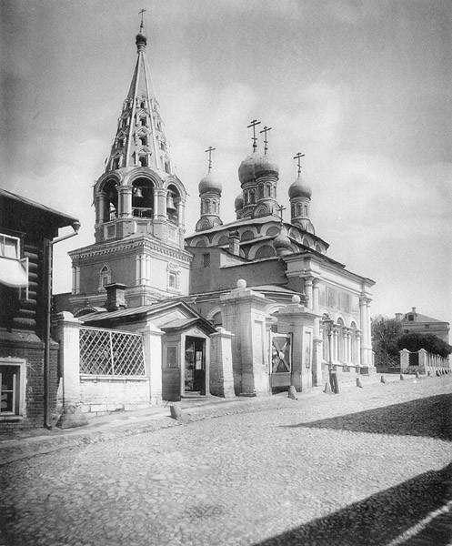 Москва_Церковь Сергия преподобного (она же Троицкая)_ что в Пушкарях.
