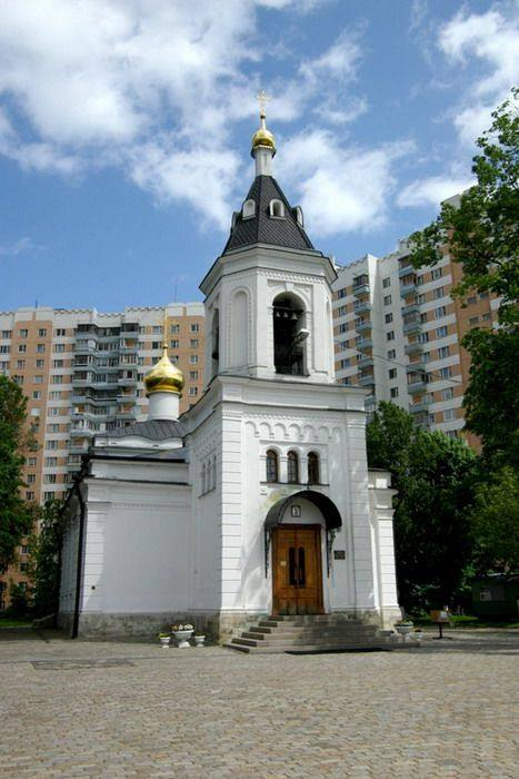 Благовещенский_храм_с_Федосьино__Москва