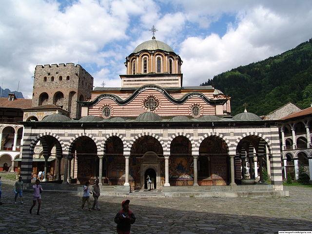 монастырь_Иоанна_Рыльского_Болгария