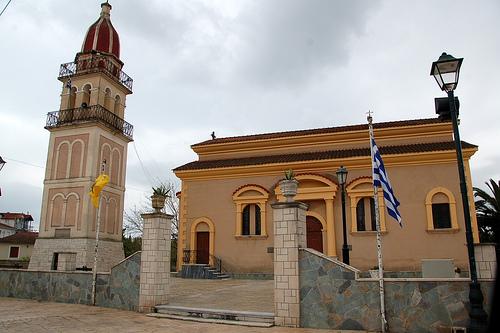 Храм Преображения Господня в Гайтани в Закинфе