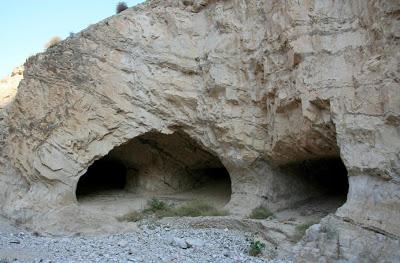 Развалины_пещерного_монастыря_где_подвизался_Феоктист_и_Евфимий_Великий_Израиль_кельи_пустынников