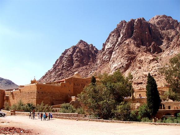 Гора_Моисея_Синай_Египет