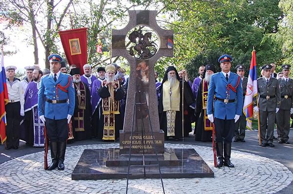 монумент_русским_солдатам_Белград