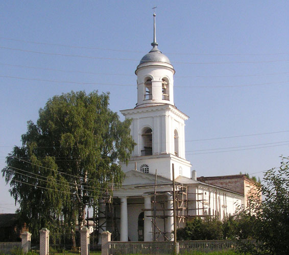 Рождественско – Богородицкая церковь_Орлов