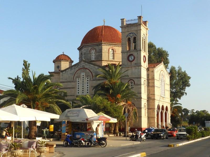 Церковь Рождества Пресвятой Богородицы_Греция_Эгина