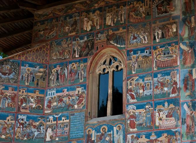 монастырь_Воронец_Румыния_фрески