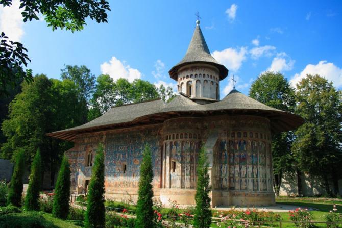 монастырь_Воронец_Румыния