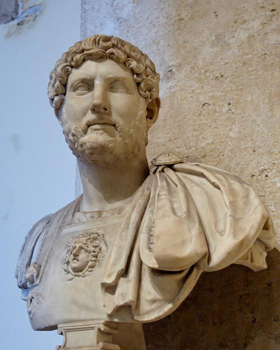 Публий Элий Адриан, римский император 117—138 н_э