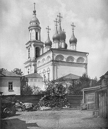 Храм св_ Николая в Толмачах также называют Третьяковским