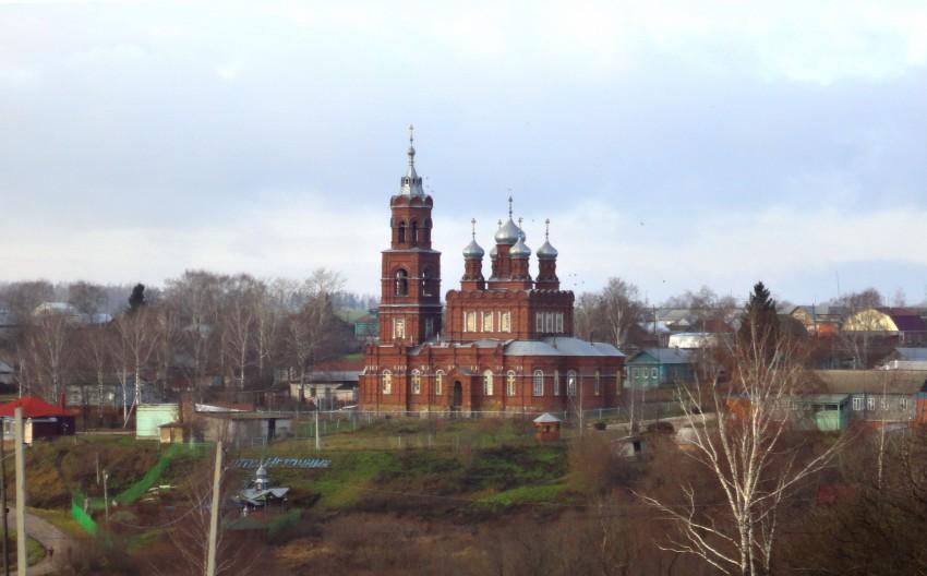 Церковь Михаила Архангела - Семьяны - Воротынский район - Нижегородская область