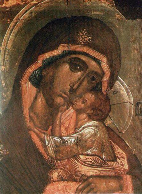 Икона Богородицы Словенская