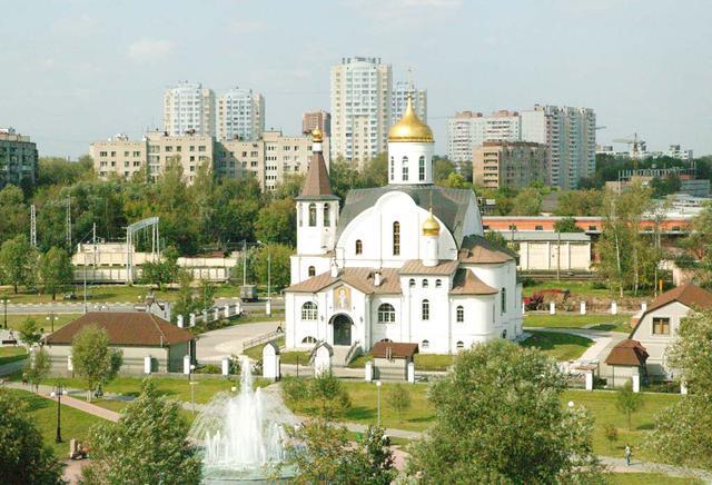 Реутовский Храм Казанской иконы Божией Матери