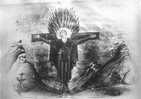 Прмч Пафнутий Тентирский, Египтянин Миниатюра Минология Василия II Константинополь 985 г