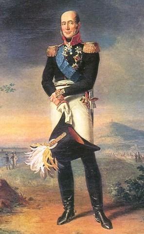 Командующий 1-й русской армией Барклай де Толли