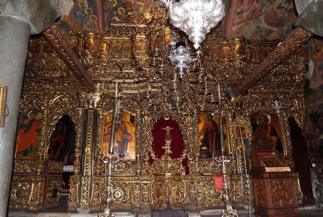монастырь_Иоанна_Богослова_Патмос_внутри_собора