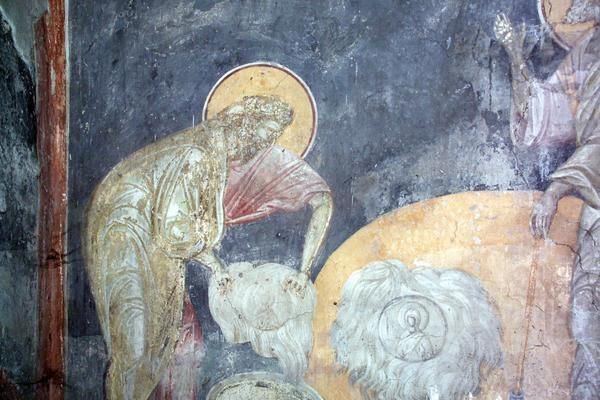 Руно Гедеоново_монастырь_Грачаница, Балканы_Косово_Сербия