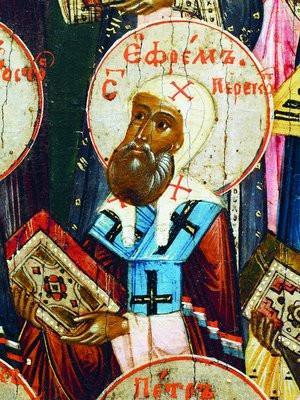 Преподобный Ефрем Перекомский, игумен