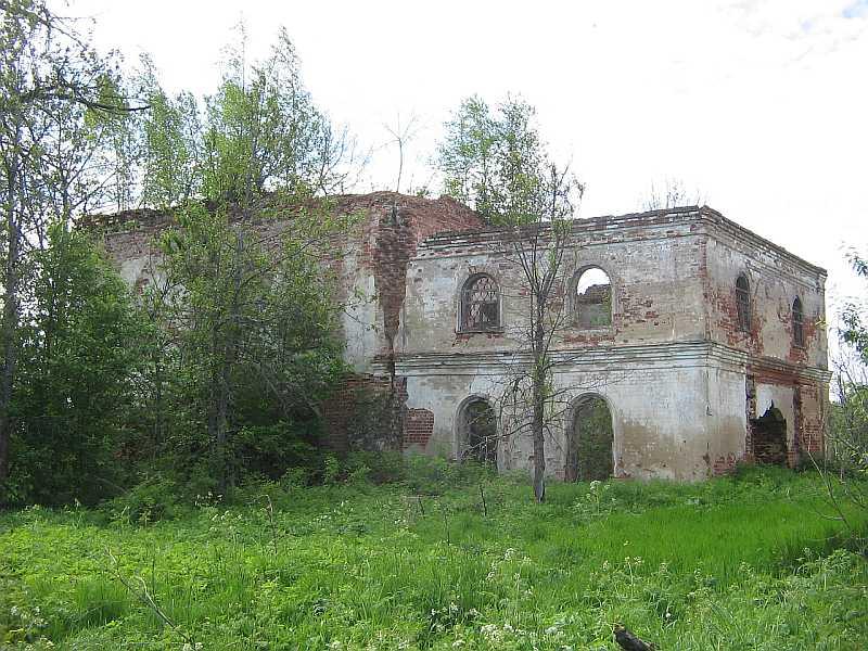 Лопотов монастырь_развалины Богородицкой церкви