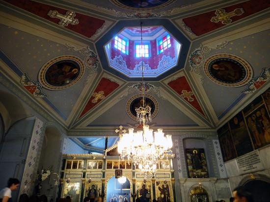 Влахернская церковь Стамбул_внутри