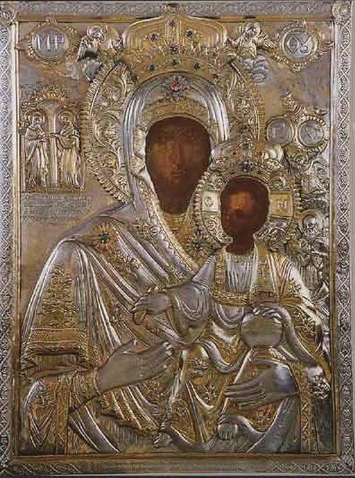 Икона Богородицы «Кукузелисса»